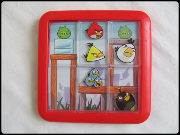 Gra logiczna układanka Angry Birds zabawka dla dzieci