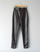 Primark spodnie rurki z ekoskóry XS...