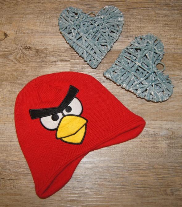 Czapki Czapka czapeczka zimowa Angry Birds rozm 4 do 6 lat