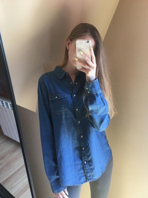 Koszula jeansowa Pull&Bear...