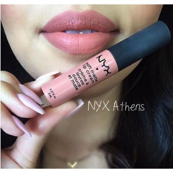 Wyprzedaż Nyx Soft Matte Lip Cream ATHENS