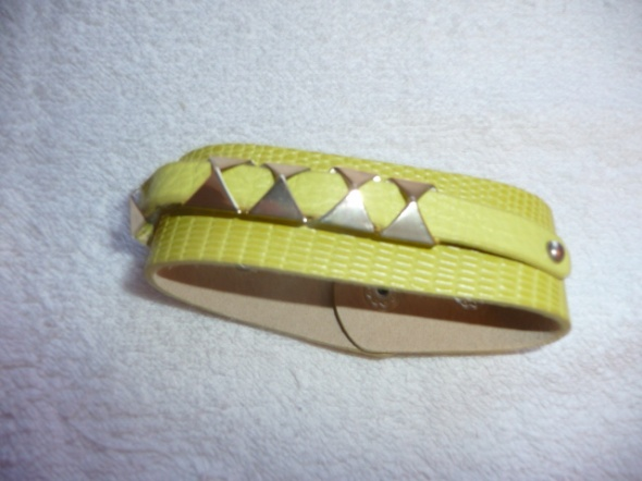 Zółta bransoletka