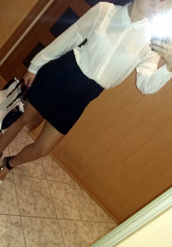 Biała koszula NEW YORKER M...
