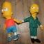 Maskotki przytulanki Simpsons zestaw...