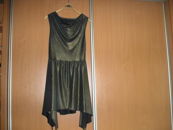 Sukienka tunika stare złoto 38 MOHITO