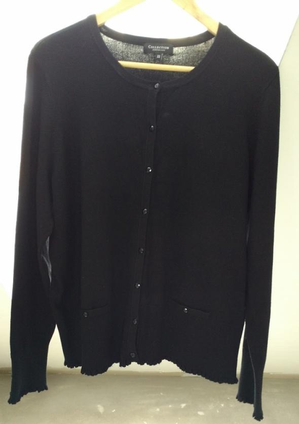 Czarny sweterek rozmiar 46 48...