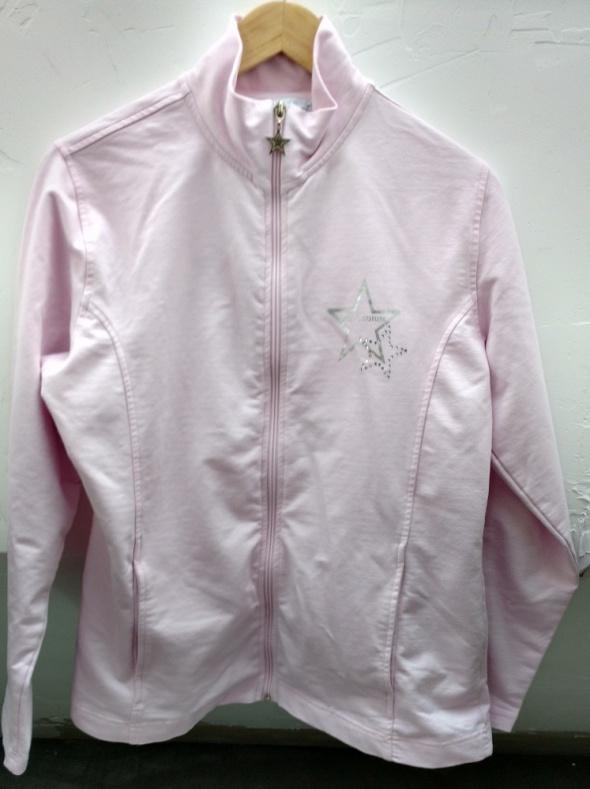 Jasno rózowa bluza rozmiar 42