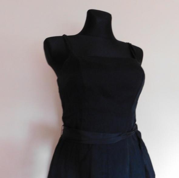 Ken czarna sukienka midi nowa 38