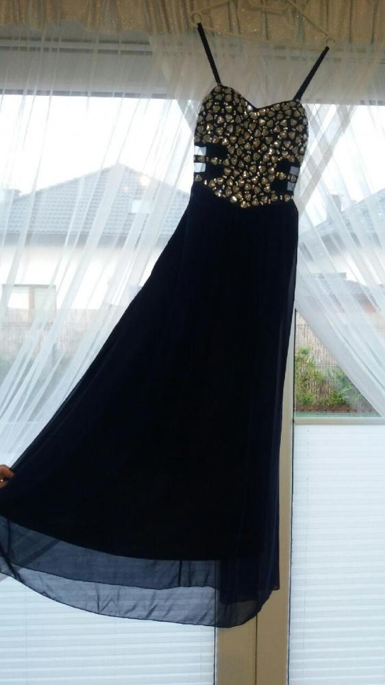 Suknie i sukienki Wieczorowa sukienka maxi