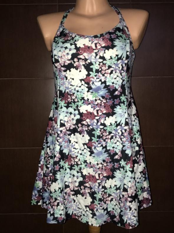 Kostium kąpielowy sukienka roz 52