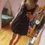 Czarna spódnica Mini Nowa 36 38