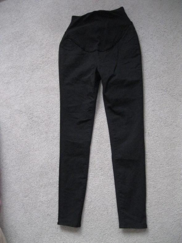 spodnie ciążowe rurki jeans GEORGE XS S czarne