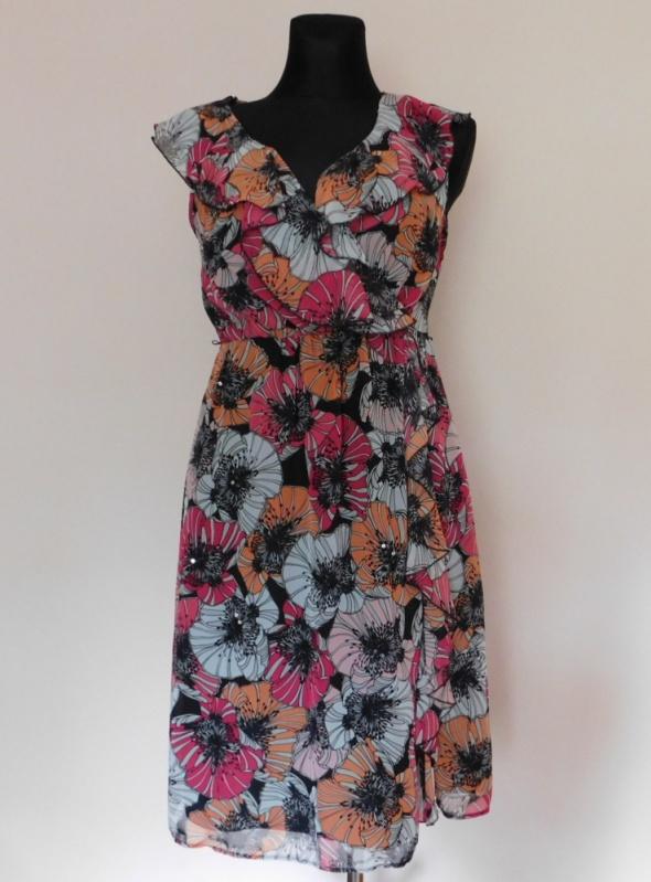 Debenhams sukienka midi kwiaty 40...