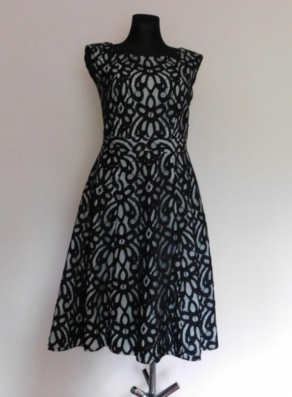 Debenhams sukienka midi czarna 38 40 42
