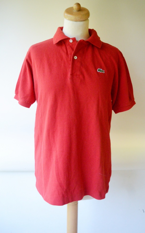 Koszulka Polo Czerwona Lacoste L 40 Męska Men