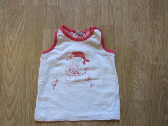 koszulka bluzka bezrękawnik na lato roz 86