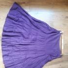 Spódnica fioletowa maxi falbany