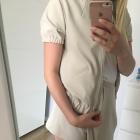 Komplet spódniczko spodenki i bluza z krótkim rękawem