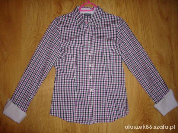 kratkowana koszula M