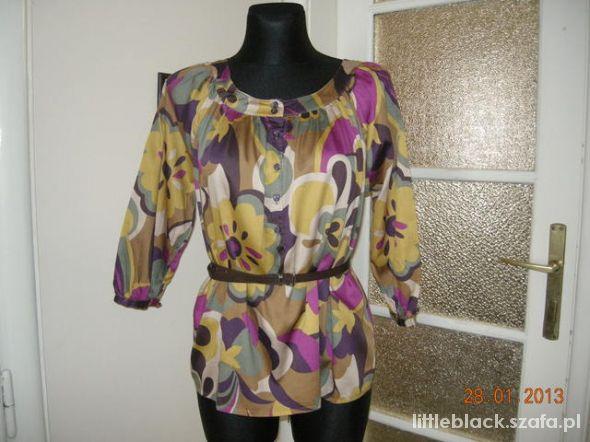 Bluzeczka w jesiennych kolorach