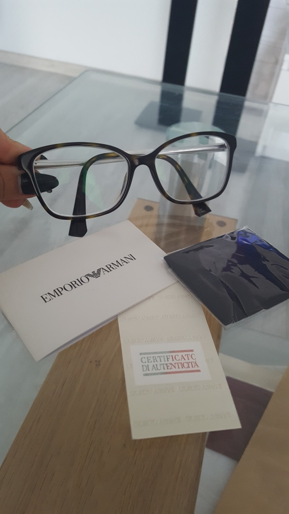 oryginalne okulary oprawki Emporio Armani