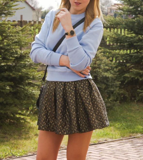bluza błękitna XS baby blue