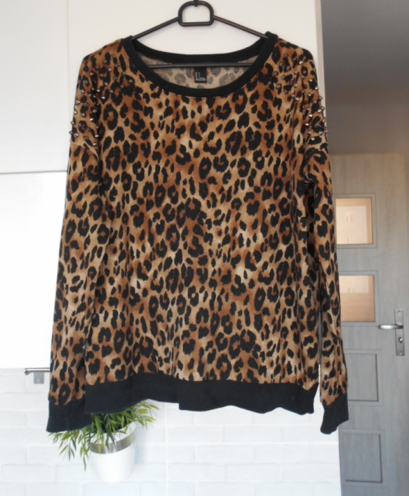 Forever21 bluza leopard panterkowa