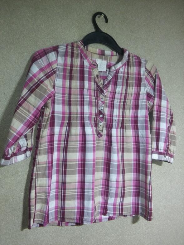 H&M Różowa koszulowa tunika 152 cm 13 14 lat