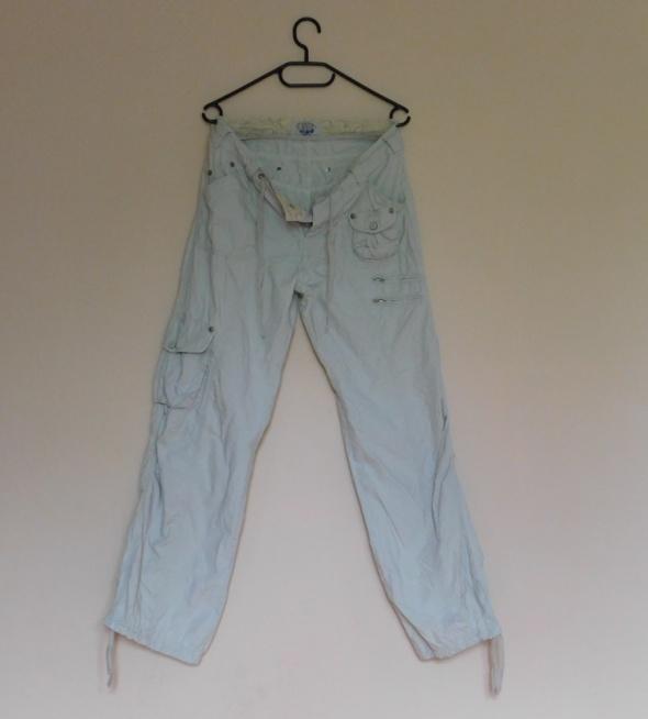 TCM ecru letnie spodnie bojówki 38 40
