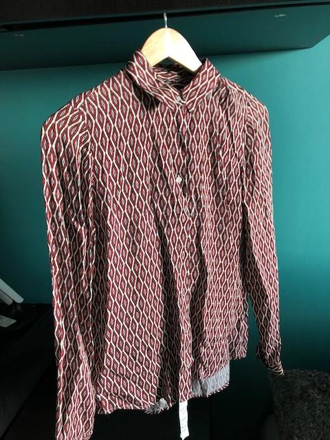 Koszula Lambert Wółczanka oryginalny wzór
