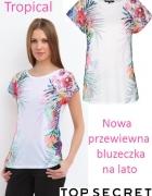 Nowa przewiewna bluzeczka 34 36...