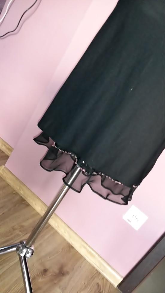 subtelna czarna spódnica L XL XXL...