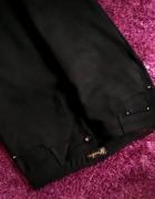 Eleganckie NOWE wygodne XL czarne spodnie
