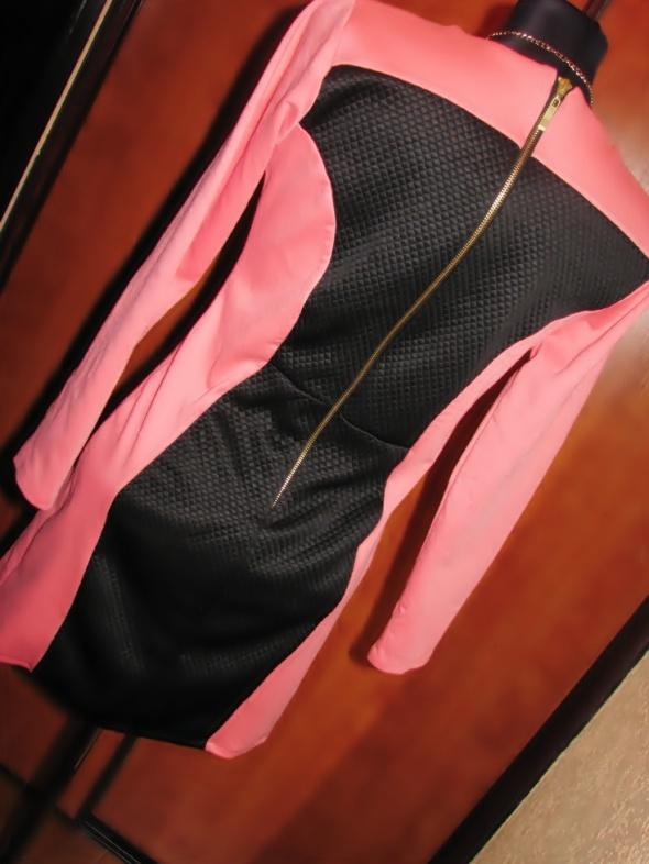Wyszczuplająca Nowa piękna sukienka tunika złoty