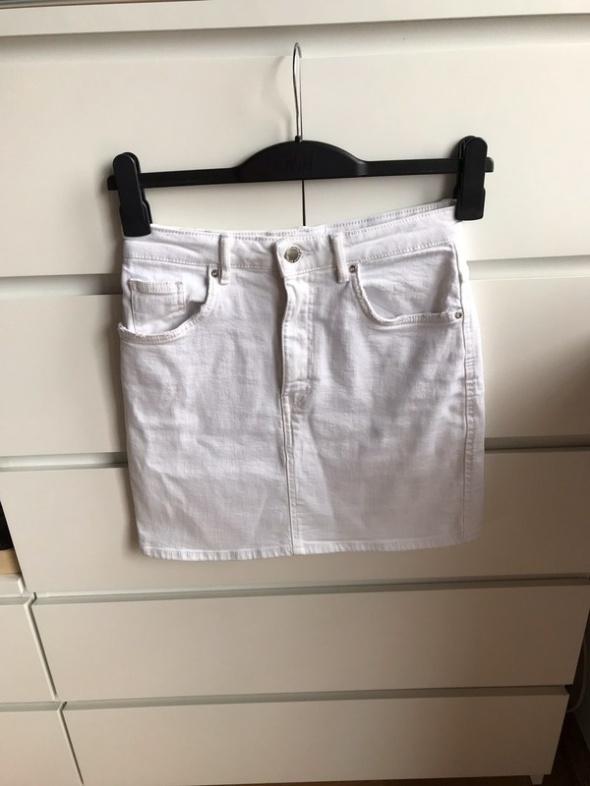 Spódnice Świetna biała modna spódniczka spódnica mini Zara 36 s tumblr lato