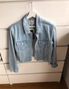 Świetna niebieska kurtka jeansowa cropped krótka 40 L Pull&Bear nowa tumblr