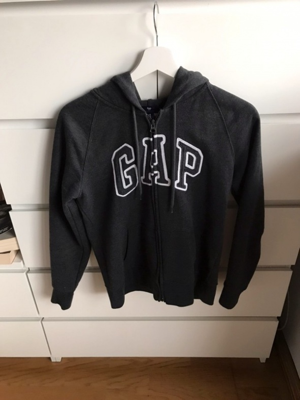 Świetna modna szara bluza GAP oryginalna 36 s rozpinana tumblr