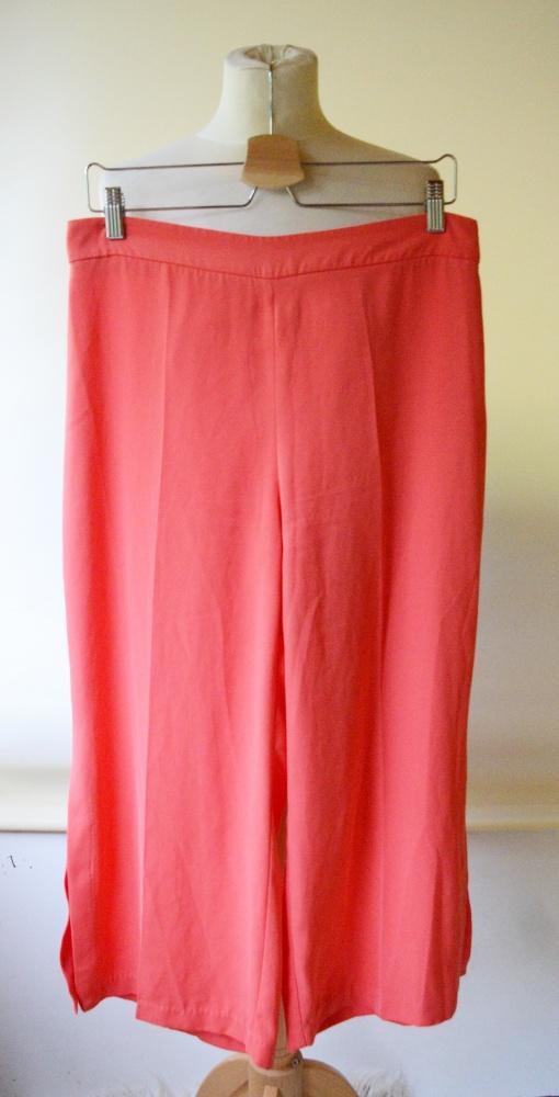 Spodenki Spódnico Spodnie Pomarańczowe L 40 Zara Basic
