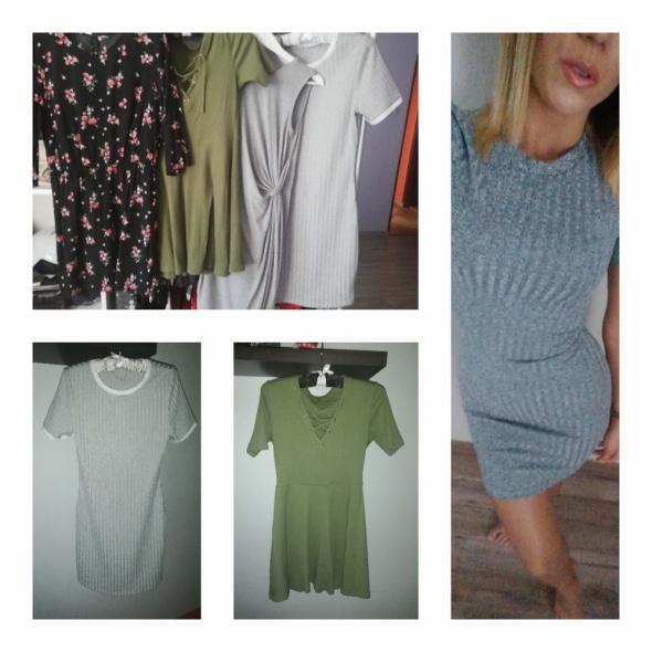 4 sukienek okazja reserved HM...