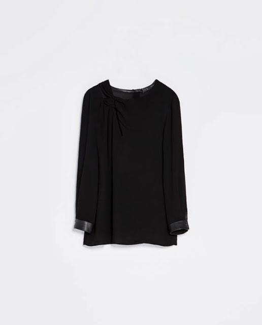Zara czarna koszula S...