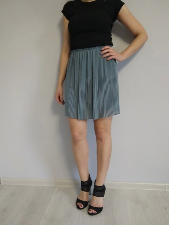 Plisowana spódniczka h&m