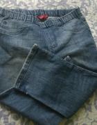 Rybaczki spodenki jeansowe dzinsowe 3 4 szorty...