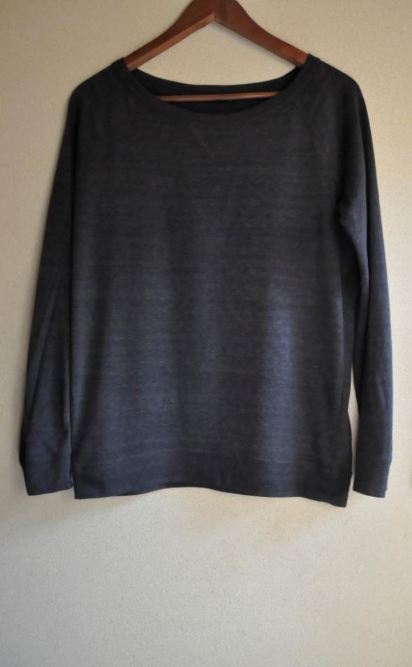Ciemnoszara bluzka H&M S 36