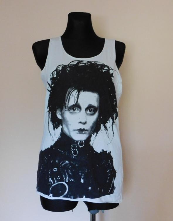 YO Coco koszulka Johnny Depp biała 36 38 40...