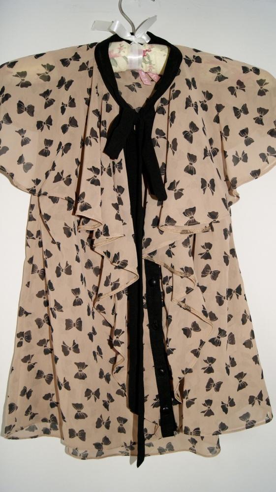 Bluzki Bluzka w kokardki