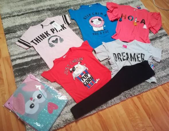 Nowy zestaw dla dziewczynki rozm 146 do 152 i gratis plecak...