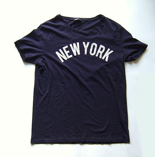 XXL koszulka ciemny garnat New York