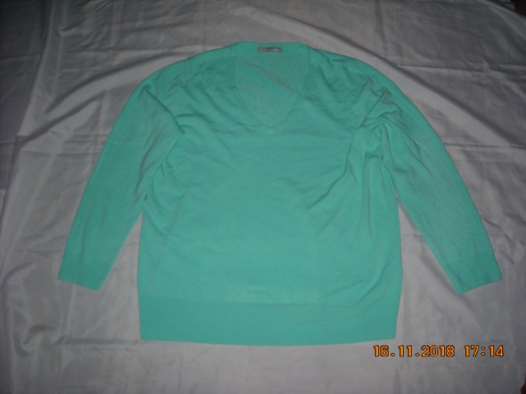 Swetr sweter sweter damski sweter miętowy 46 48 50...