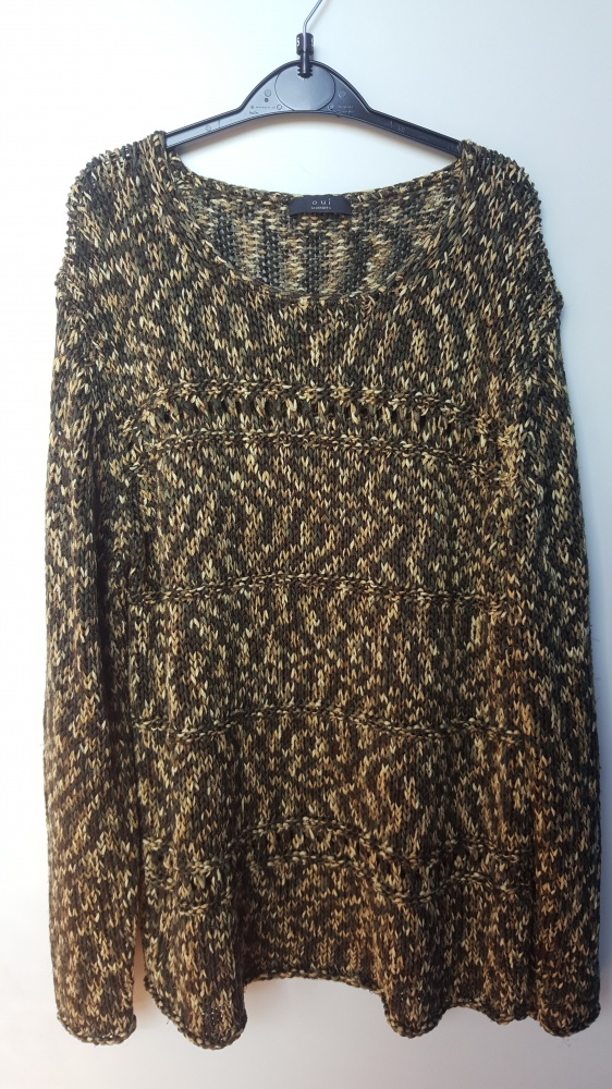Pleciony sweterek...