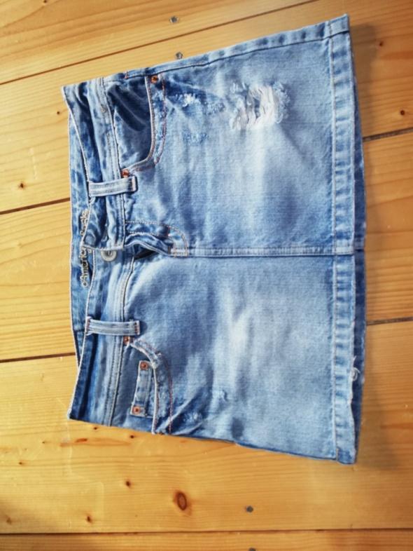 Spódnice Krótka jeansowa spódniczka American Eagle
